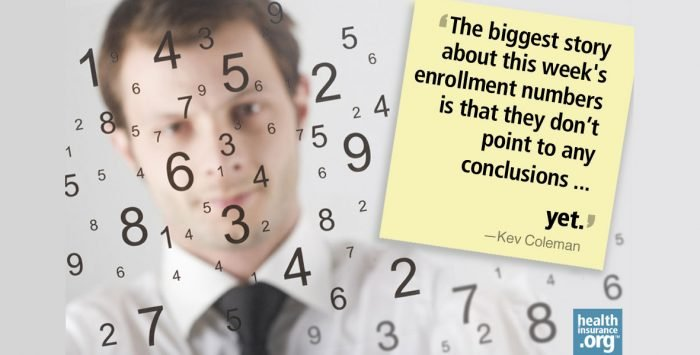 The exchange enrollment numbers are out