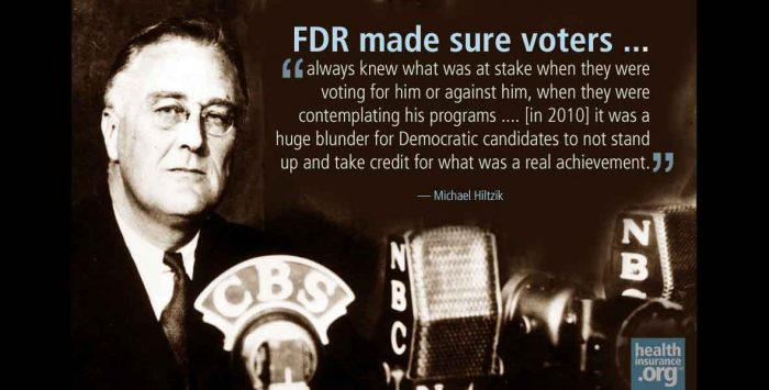 FDR's lesson for skittish Democrats
