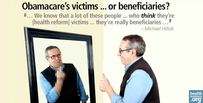 Identifying Obamacare's victims