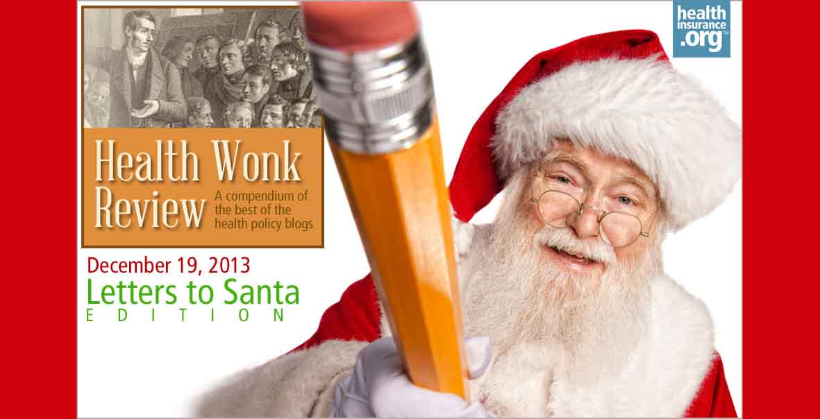 Health Wonk Review for December 19, 2013 photo