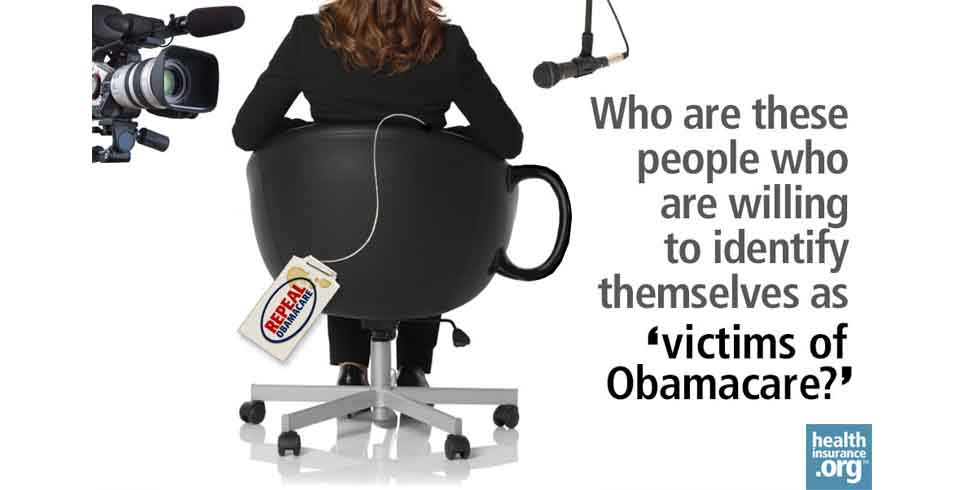 Obamacare's 'victims' photo