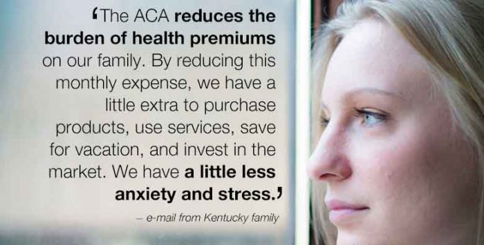 The human face of a health reform debate