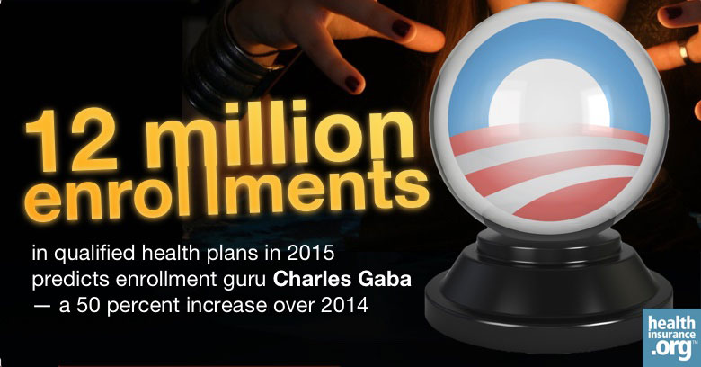 2015 projection: 12 million will enroll in QHPs photo