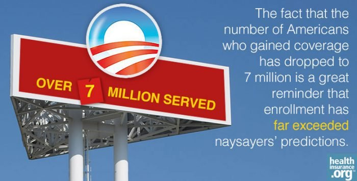 Over 7 million customers served