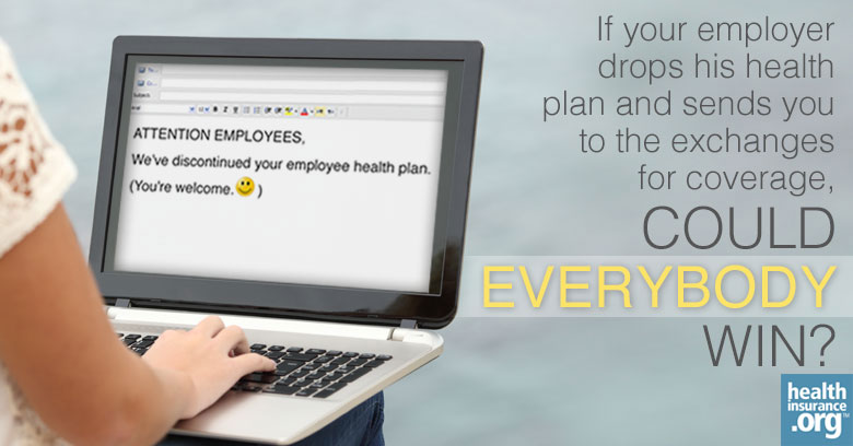 Your employer is dropping health coverage. Yay? photo