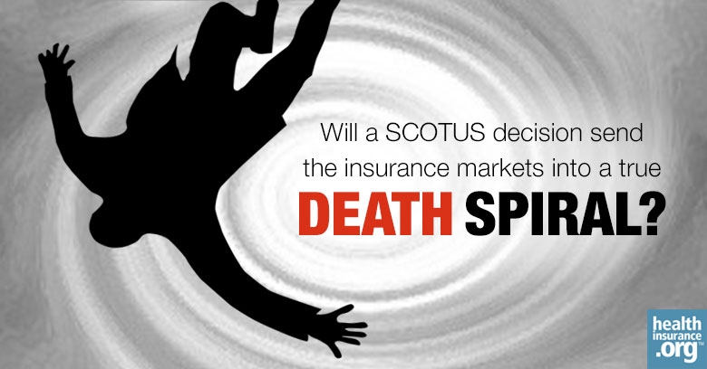 Anatomy of a true health insurance death spiral photo