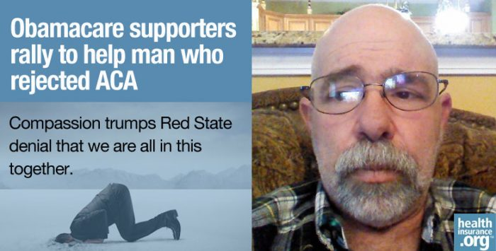 Obamacare supporters' compassionate response
