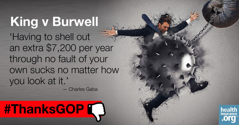 Financial ruin for millions? #ThanksGOP photo