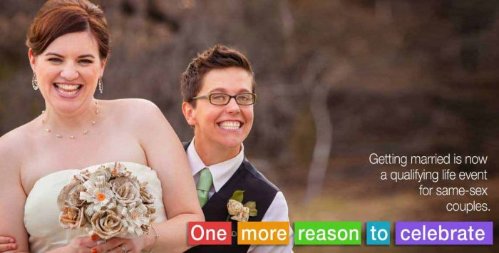 Marriage equality delivers equal insurance access