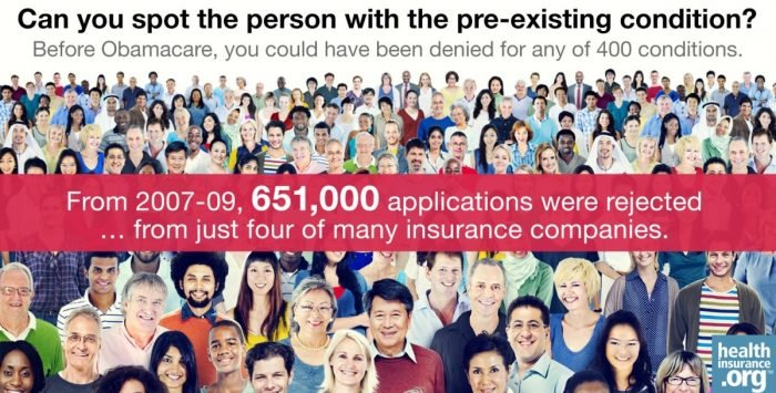 Why pre-existing conditions mattered … to millions