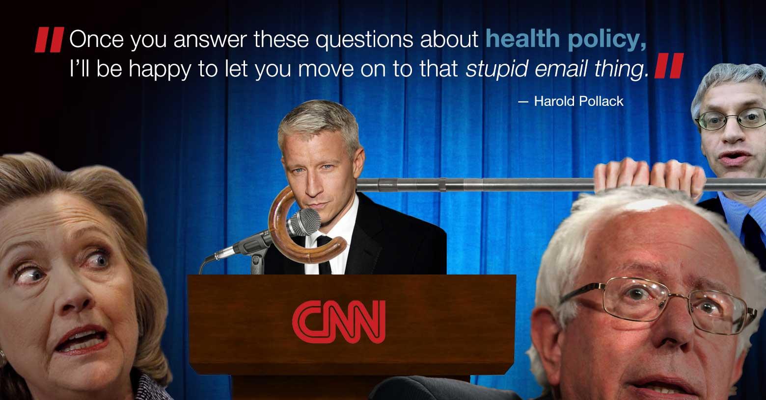 How health policy should hijack tonight's debate photo