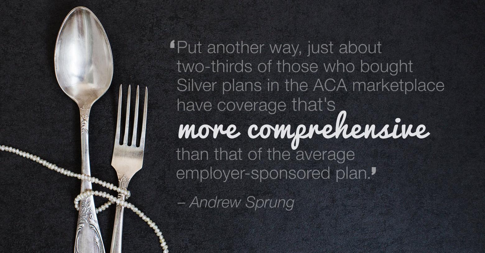 When ACA's Silver beats employer-sponsored plans photo