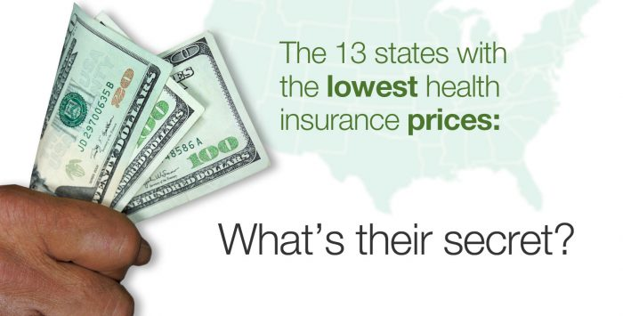 Why 13 states have lower health insurance rates