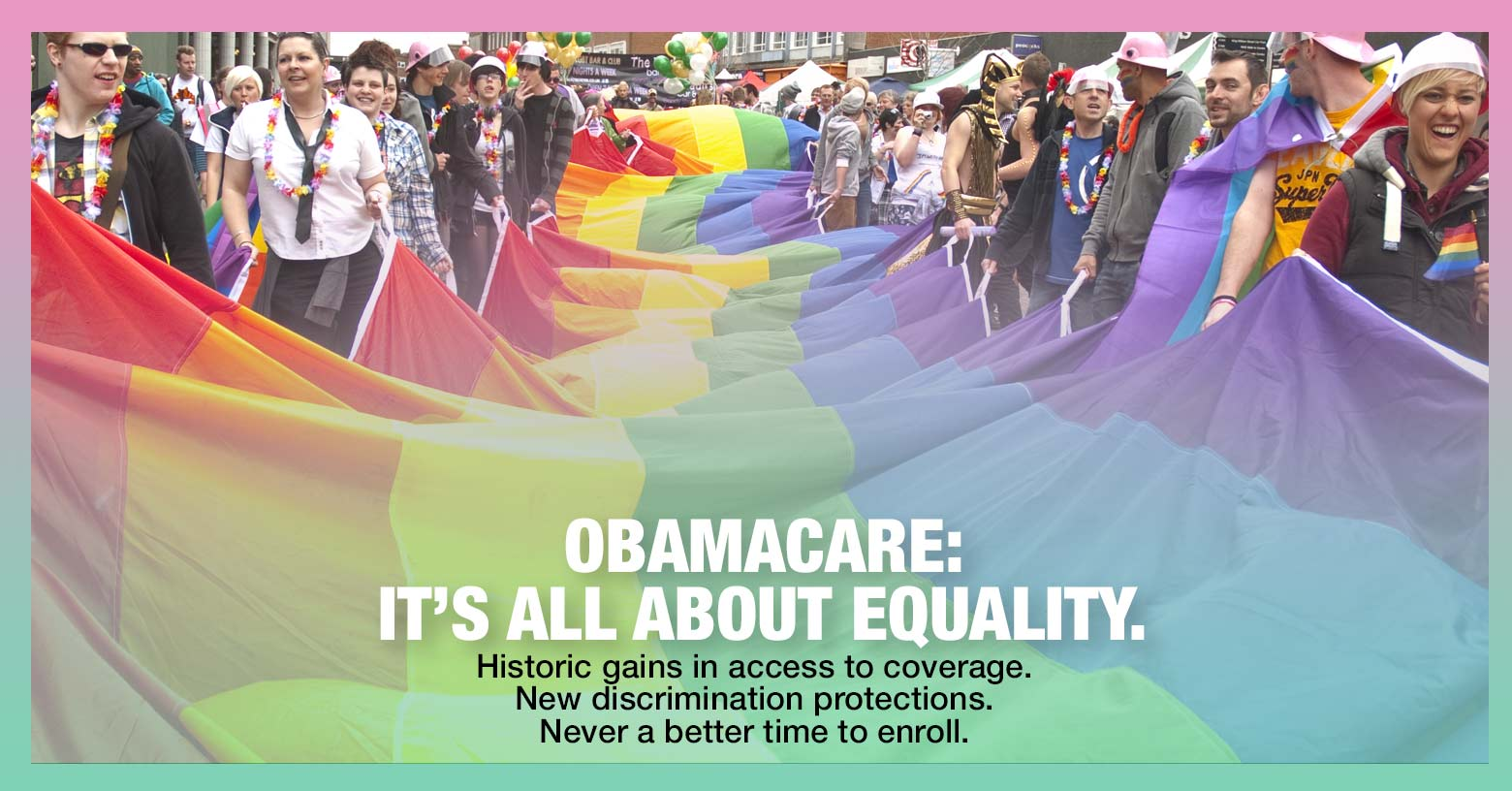 LGBT gains under ACA are all about equality photo