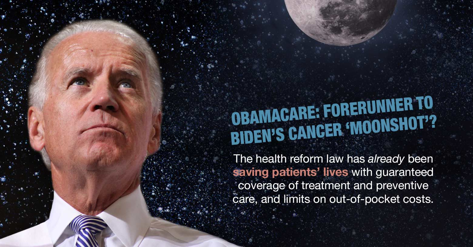 Moonshot only the latest of Obama cancer missions photo