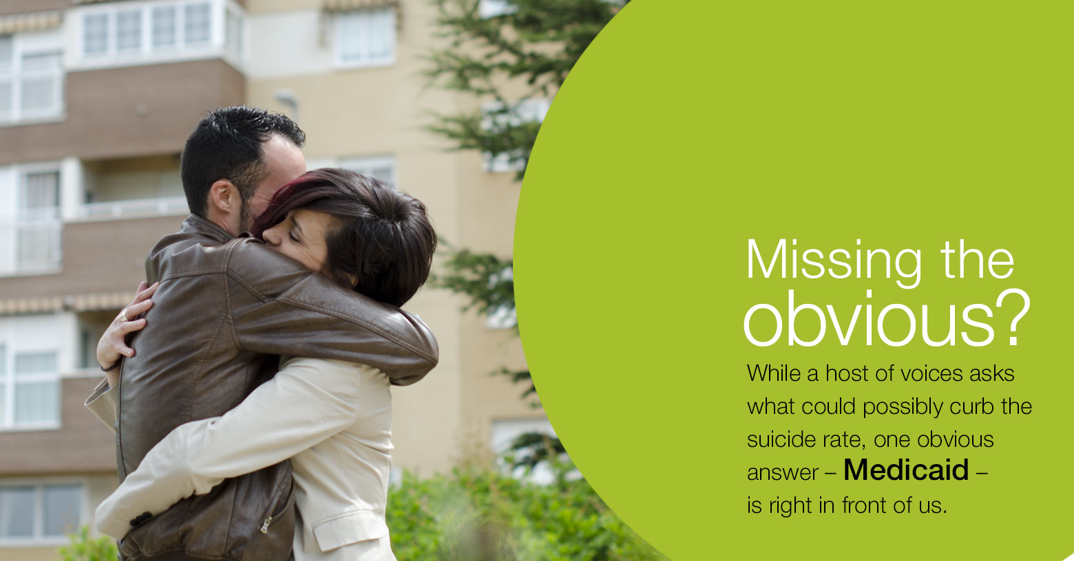 Suicide rates –and how Medicaid can help photo