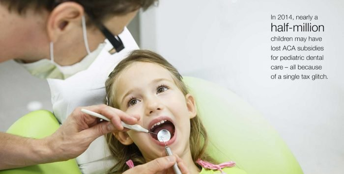 Tax code fix will deliver dental for millions of kids