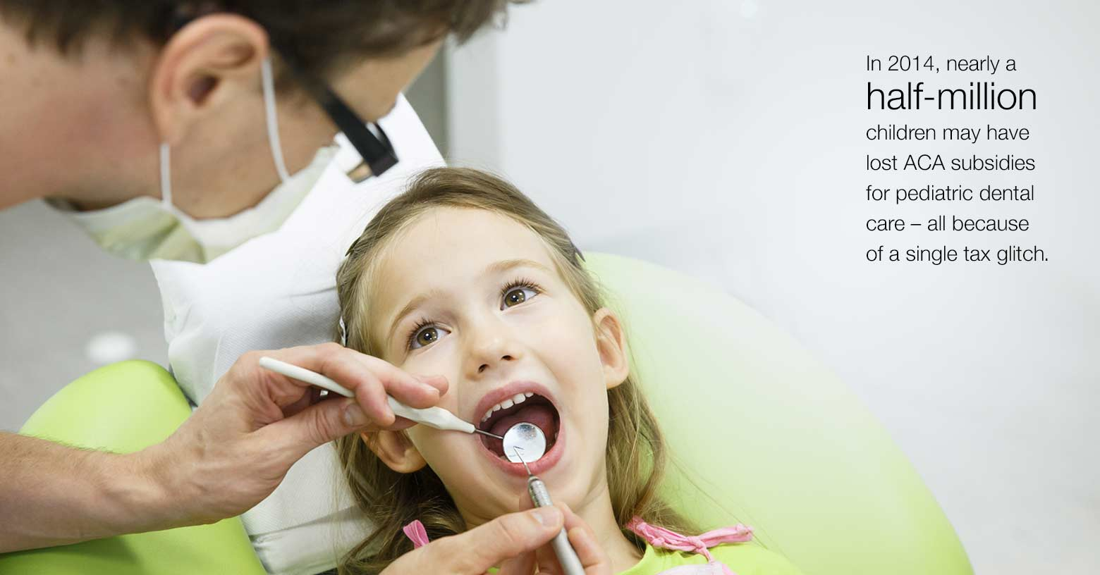Tax code fix will deliver dental for millions of kids photo