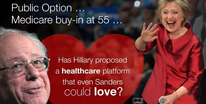 A healthcare plan that even Bernie could love?