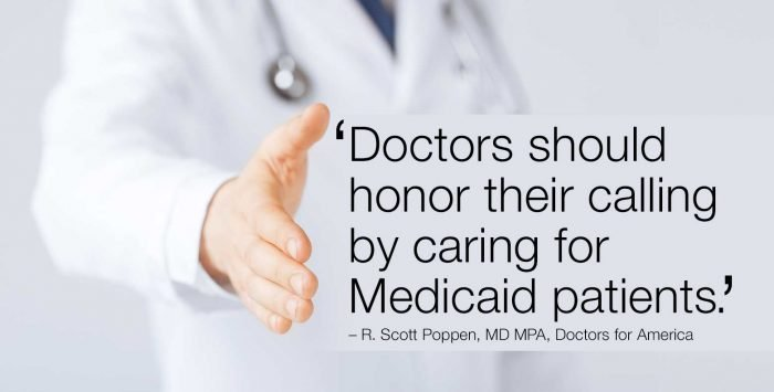 Medicaid patients deserve our care