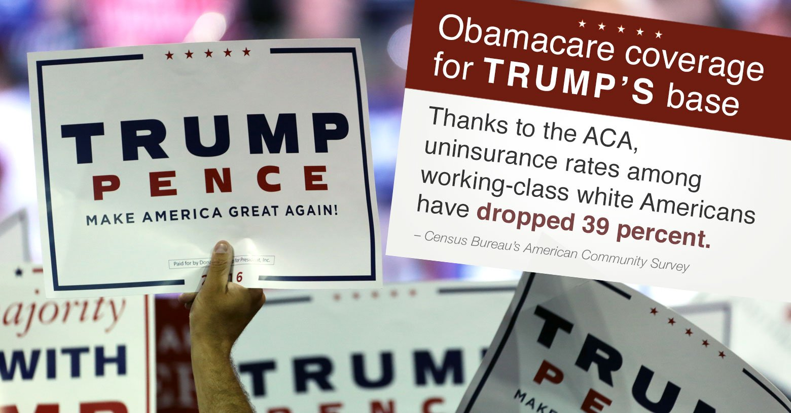 Obamacare for Trump's base photo