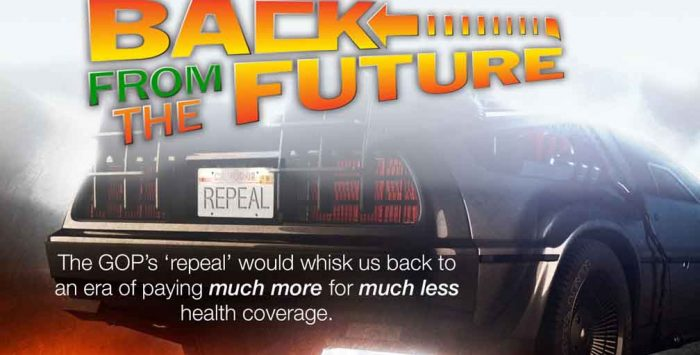 Back from the Future. (A sequel we'll all hate.)