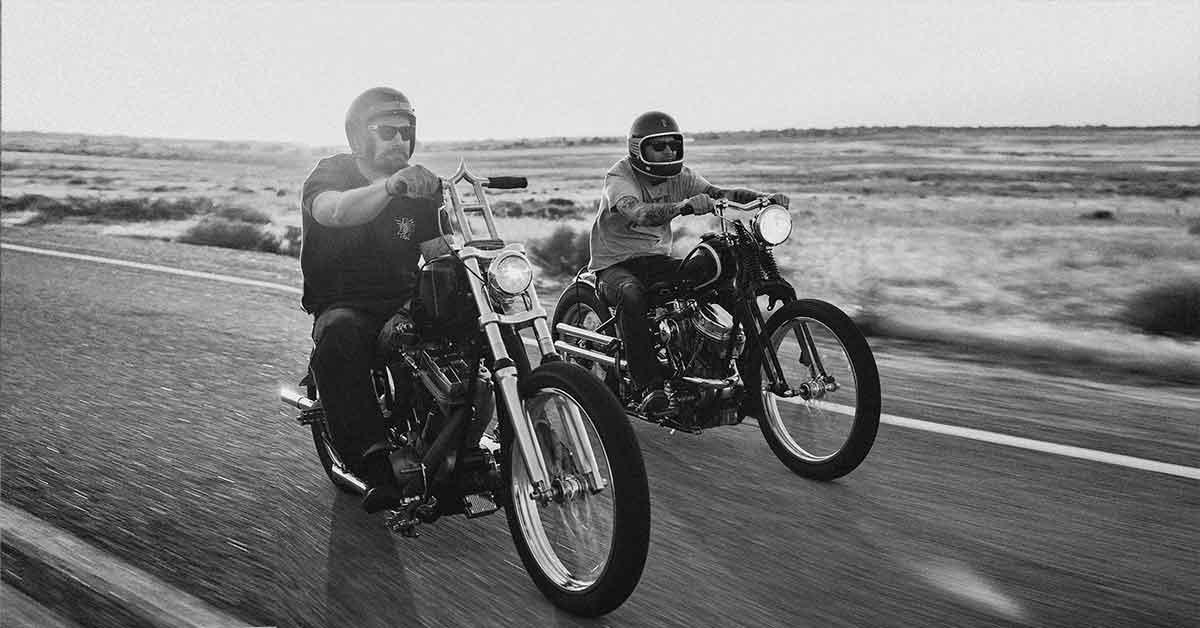 Motorcycle ride near Boise.