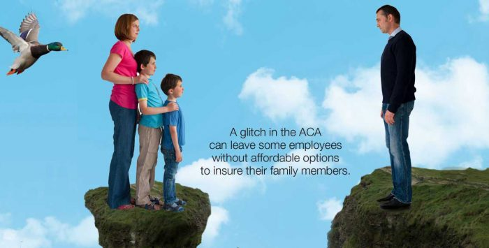 How millions were left behind by ACA's 'family glitch'