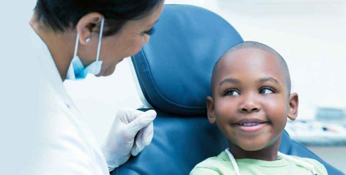 Is pediatric dental coverage included in exchange plans?
