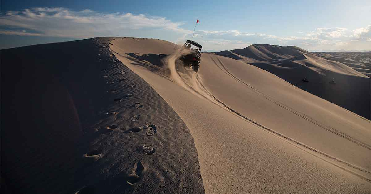 St. Anthony Sand Dunes in Idaho.