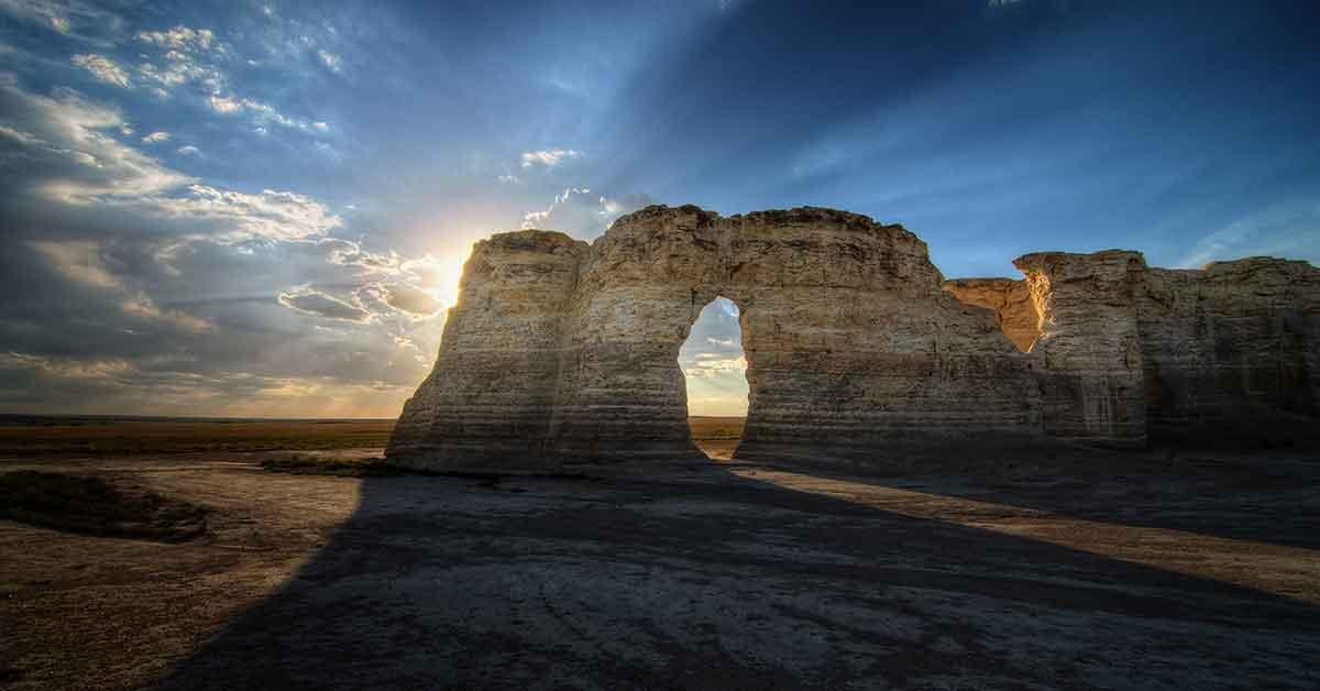 Monument Rocks, Gove County, KS.