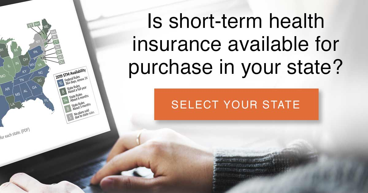 Is short-term health insurance available for purchase in your state?